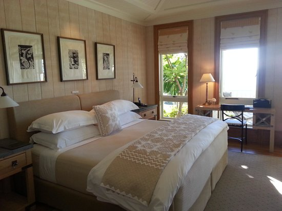 The Lodge at Kauri Cliffs : the gorgeous bedroom