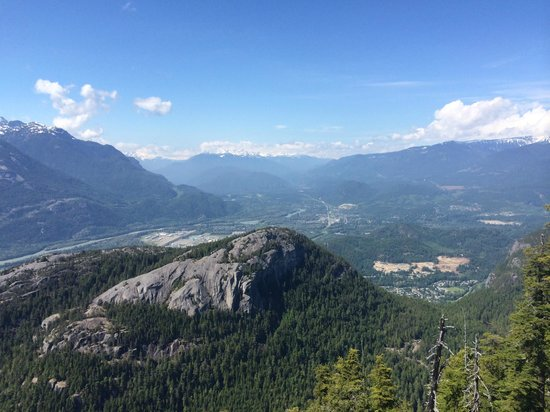 Sea to Sky Gondola: View from one of the lookouts via a short walk