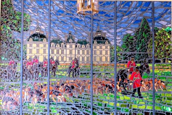 Château de Cheverny : mosaic