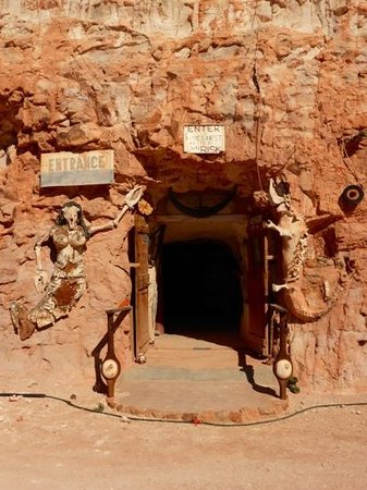 Crocodile Harry's Underground Nest: Entrance to Crocodile Harry's Nest