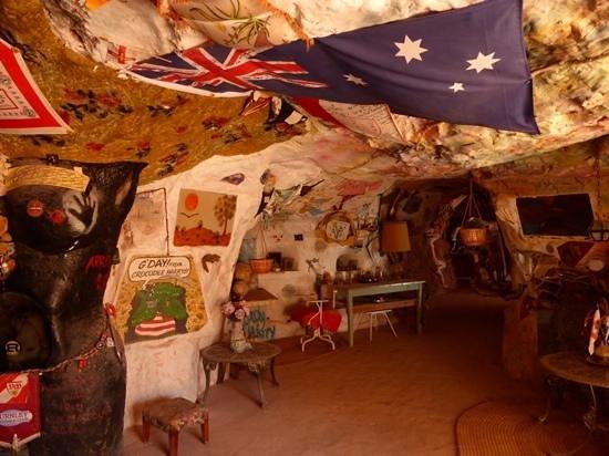 Crocodile Harry's Underground Nest: Harry's dugout