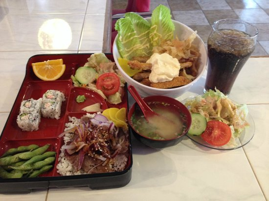 East Moon : rice bowl and bento box