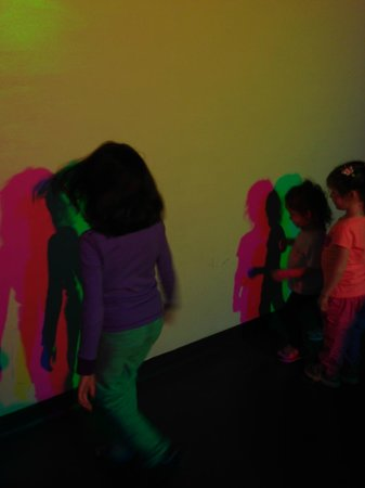 The Exploratorium : Color wall