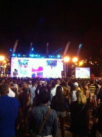 Yumbo Centrum: Maspalomas pride - the live stage.