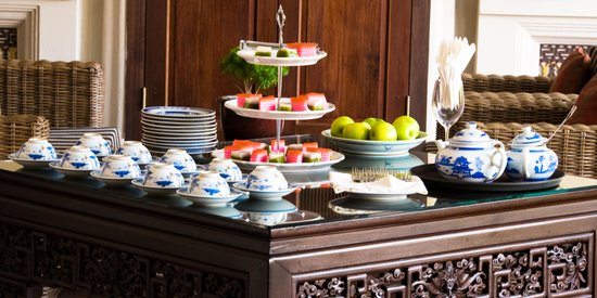 Seven Terraces: Afternoon tea every day between 4pm-5pm for our house guests