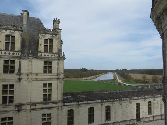 Château de Chambord : View from the top