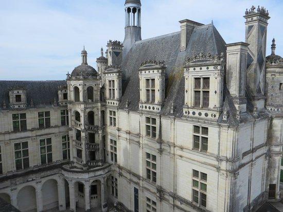 Château de Chambord : castle view