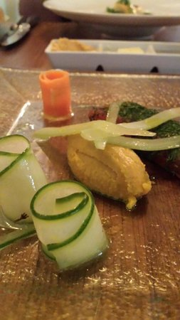 Crab & Boar: great starter. really loved the presentation of the pickled veg! yum