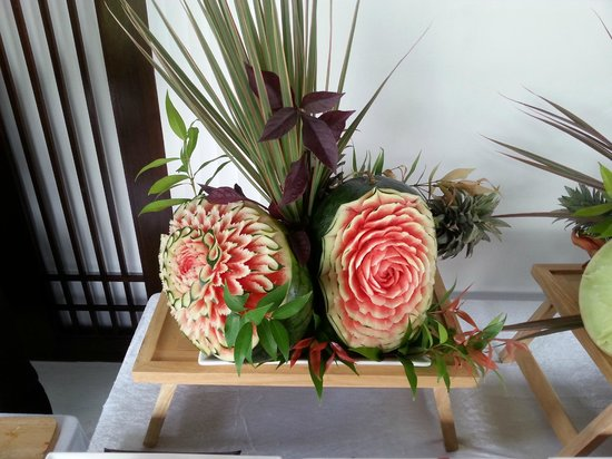 JW Marriott Khao Lak Resort & Spa : Fruit carving