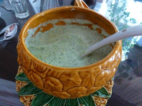 Riad Maryam Restaurant : la soupe de concombres