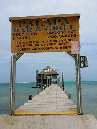 Palapa Bar and Grill: Palapa Bar June 2014