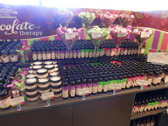 Yarra Valley Chocolaterie & Ice Creamery: chocolate 1
