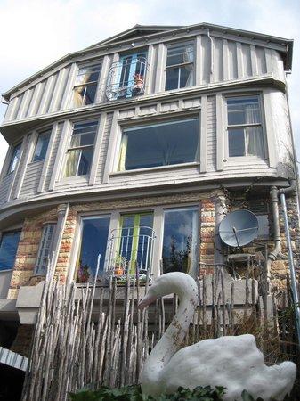 The Last Villa: unusual facade