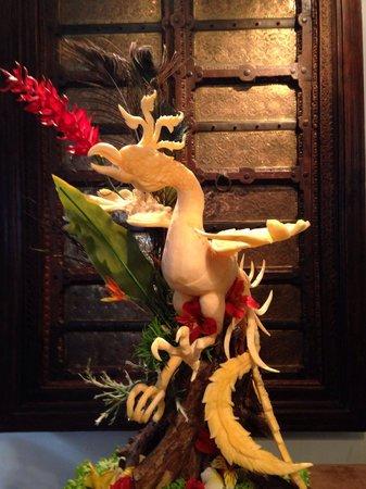 Sucheera Thai Restaurant: Amazing crafting from chef rung.