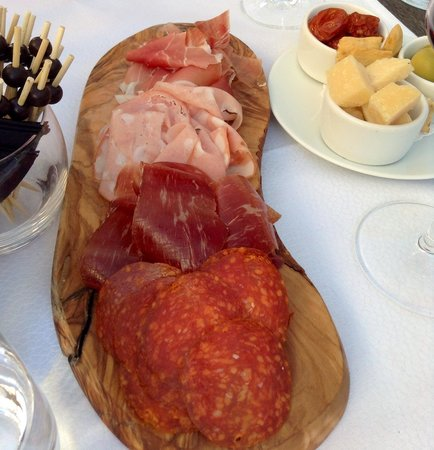 Harry's : Antipasti for two