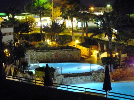 Gavimar La Mirada Club Resort: view at night from my room