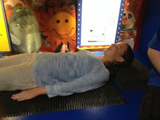 Scitech : A comfy bed of nails proves the science is correct