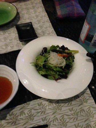 Kazu : Teppanyaki's salad