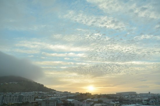 The Westin Cape Town: our room view