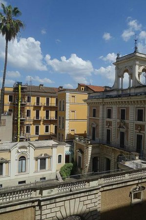 The Westin Excelsior, Rome: nice view from room (to the back of the hotel)