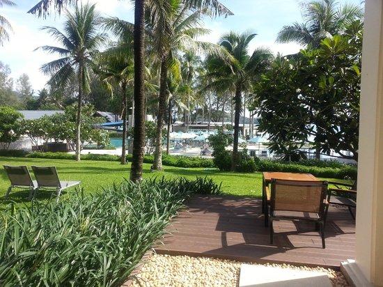 Outrigger Laguna Phuket Beach Resort : View from room