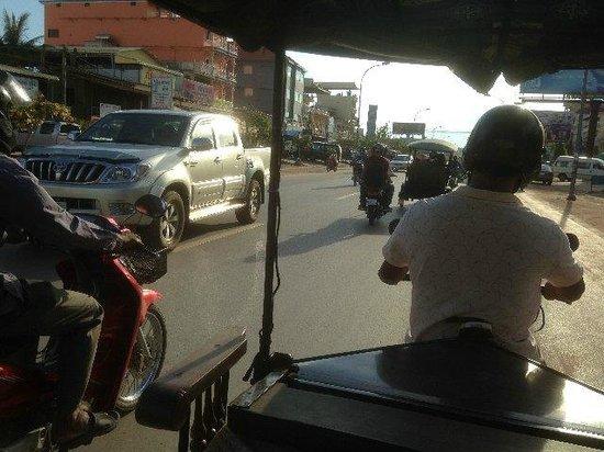 Dara Reang Sey Hotel Siem Reap: 利用したトゥクトゥクから