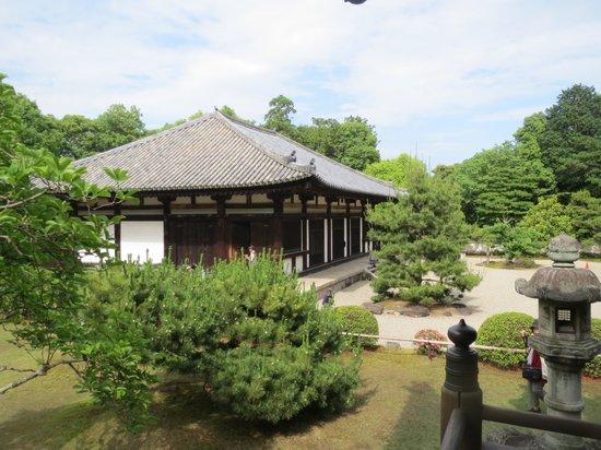 Akishinodera Temple: 秋篠寺伎芸天安置の本堂