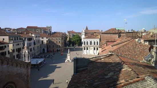 Settimo Cielo B&B: Ausblick von der Dachterrasse