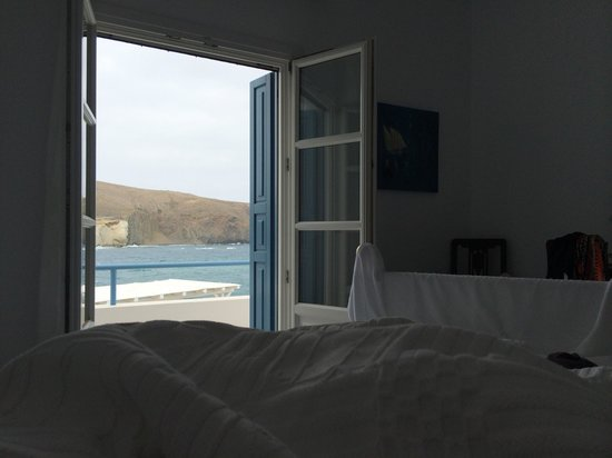 Melian Boutique Hotel & Spa : Our room - on the floor above the reception area - with a great balcony (with jacuzzi) - the sea