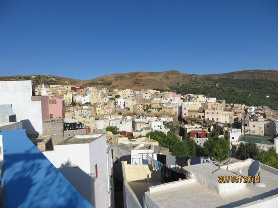 Dar KamalChaoui: Bhalil vu de la terrasse