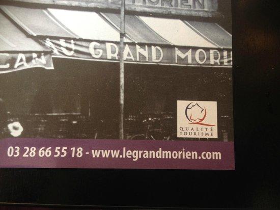 Le Grand Morien : SANS PAROLE