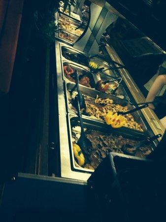 La Salsa Cafe : Buffet ?