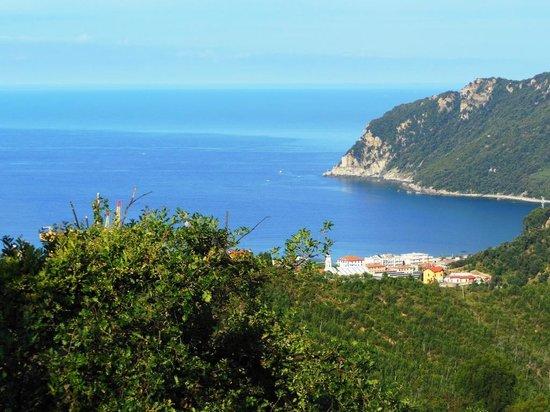 Hotel Relais San Rocco : Vista dalla camera 9 (golfo di Riva Trigoso)