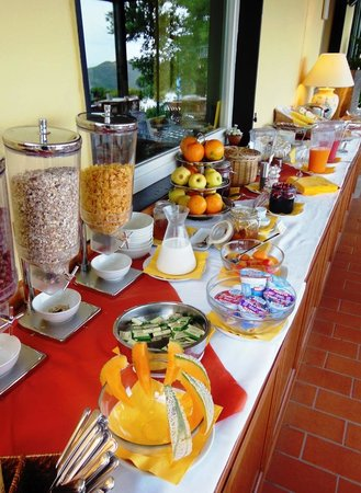 Hotel Relais San Rocco : Il buon buffet della colazione