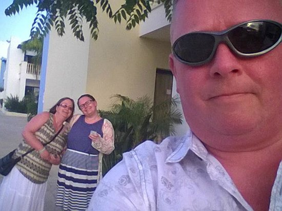 Eleni Holiday Village: The wife, daughter & I