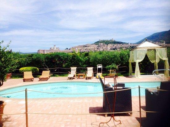 County House Il Roseto: Vista mozzafiato su Assisi