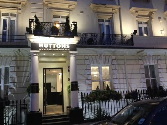 Huttons Hotel: frente