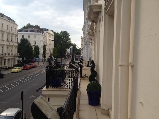 Huttons Hotel: balcon