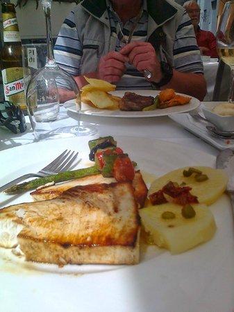Restaurante Navarro: Swordfish steak