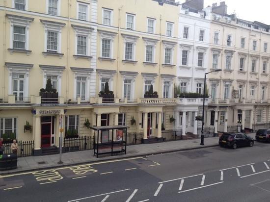Huttons Hotel: Vista desde la habitacion