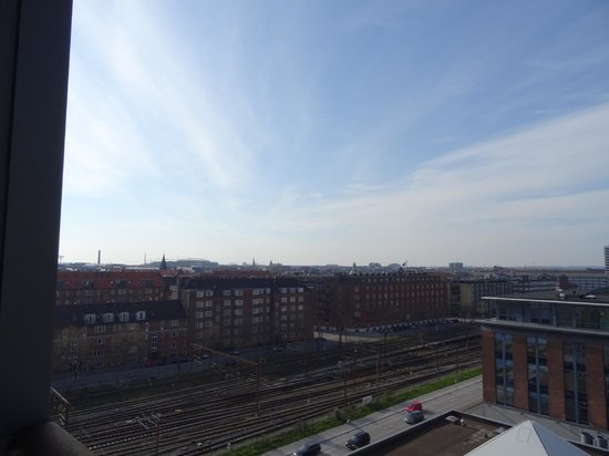 Adina Apartment Hotel Copenhagen : View from one-bedroom apartment on level 8