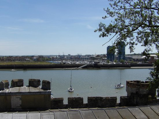 Upnor Castle: View across the Medway
