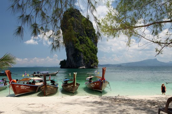 Koh Poda Island: Scenic outlook