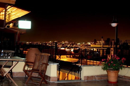 Uyan Hotel : vue terrasse
