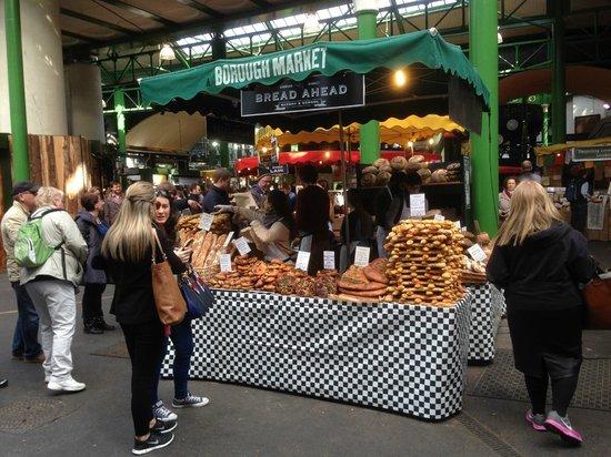 Borough Market: Fantastic array of food