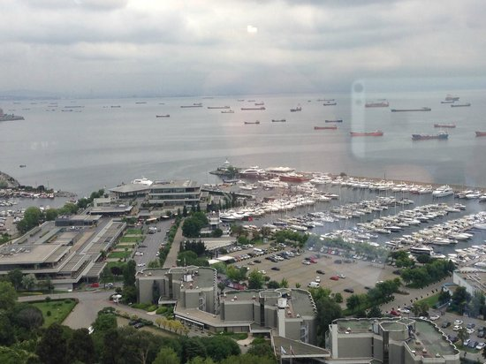 Sheraton Istanbul Atakoy Hotel: View from the hotel room