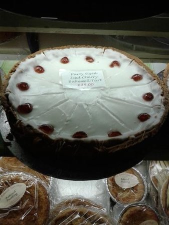 The Bakewell Tart Shop & Coffee House: Party Bakewell