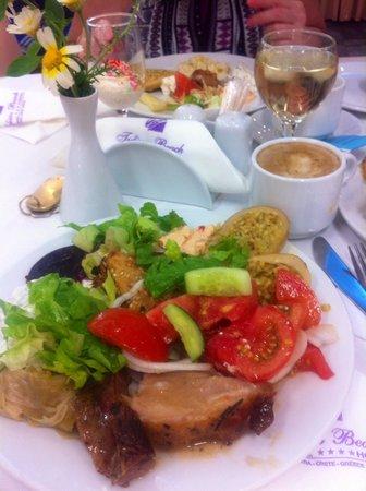 Tylissos Beach Hotel: Tylissos Beach ресторан