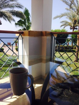 Hyatt Regency Sharm El Sheikh Resort: Morning Cuppa!