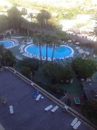 TRYP Tenerife : Pool View from 8th floor